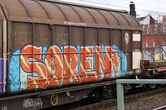SØREN (rebecca2909) Tags: germany cologne köln zug güter freight colored colors urban graffiti traffic trains train