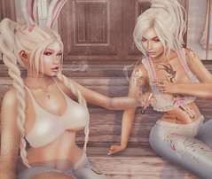 Stoner Sisters (Bunny Ophelia) Tags: monso lefilcasse pinkcreampie reveobscura avaway swallow glamaffair realevil catwa maitreya