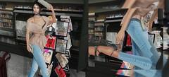 Press Release (Roxy Olsonne) Tags: pressrelease fashion model vivenine ryvolter chic fabulous fashionforward sanya lowen beige denim heels magazine blackfair trendreport trendy readytowear streetfashion glam black