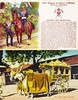 """India - Empress of India's Lancers / Indian State Carriage - """"Two Different Worlds"""" (ramalama_22) Tags: india raj british rule picture postcard lord kitchener nile campaign sudan ox cart elvis state carriage lancers autonomous selfdriving vehicle sustainable fuel horse soldier military"""