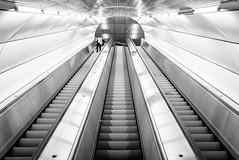 Tube (_gate_) Tags: vienna austria street photography x100f fujifilm urban architecture metro u2 u4 schottenring wien österreich station ubahn architektur photo art style city high contrast taborstrase wean gate patrick stargardt