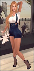 1002 - dollarbie (elifarun) Tags: blogging secondlife fashion fashionblogger slfashion secondlifefashion sl shape dollarbie virtualfashion virtual meshhead mesh bento