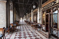 Caffè Florian   *explore (sarah_presh) Tags: theflorian florian venice italy europe famous cafe tiled pattern exterior outside city square sanmarco stmarkssquare nikond750 caffeflorian piazza 1720 coffee