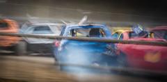 Gettin tight in there (sidewaysbob) Tags: aldershot bangers cars race raceway racing short sunday track