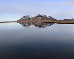 Bjarnarhafnarfjall (hó) Tags: bjarnarhafnarfjall snæfellsnes landscape iceland mountain pond reflection blue march 2018 still platinumheartaward