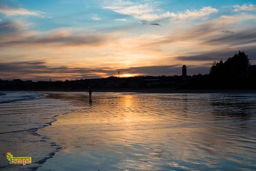 Swansea Beach facing towards Singleton.  Wales. UK