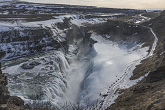 Gullfoss (José M. Arboleda) Tags: paisaje círculodorado cascada catarata rio hvitá agua nieve hielo islandia eos markiv josémarboledac contactgroups ef1635mmf4lisusm canon 5d