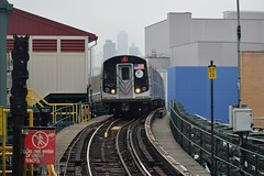 Queensboro Plaza (N) (CrispyBassist) Tags: railroad railway train track transit subway nyc newyorkcity nyct nycta newyork newyorkcitysubway newyorkcitytransit queens elevated queensboroplaza