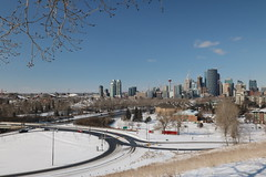 The ever changing face of Calgary (davebloggs007) Tags: calgary alberta canada tom campbell hill
