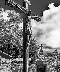 Christ Crucified (Rennett Stowe) Tags: photographofchristonthecross holyeucharist theeucharist redeemed redemption sin forgivenessofsins forgiveness thepassionofthelord creativecommons goodfriday thesonofman thesonofgod love theultimatesacrifice nailedtoacross thedeathpenalty terribledeath godonthecross christ'ssacrafice dyingformankind thecross deathoncalvary thedeathofchrist corpus romancrucifixion sacrifice thepassionofchrist thepassion christoncalvary calvary christ christianity christian christonthecross cross christiancross crucifixtion rome romanlaw thechristianfaith faith martyr martyrs prophet god salvation savior christthesavior inri canon canon5dmarkiii siteofchristscrucifixtion crucifixion siteofchristscrucifixion thecrucifixionofchrist