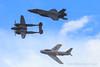 "Heritage Flight: P-38J Lightning ""23 Skidoo,"" F-35A Lightning II and F-86 Sabrejet ""Jolley Roger"" (Norman Graf) Tags: f86 aircraft 2017planesoffameairshow 115036 p38j fu834 airshow lockheed p38 tacticaldemonstrationteam lockheedmartin f35 f86f 2016f35heritageflightteam majwilldrailandreotta 23 skidoo airplane f35a northamerican 23skidoo jolleyroger louise 162 4423314 525012 5thgeneration ctol conventionaltakeoffandlanding fifthgenerationfighter fighter jsf jet jointstrikefighter koreanwar lf lightning lightningii n186am nx138am nx186am plane sabre sabrejet stealth wwii warbird flight formationflight"