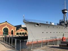 HMS Caroline, Belfast (John D McDonald) Tags: belfast northernireland ni ulster hmscaroline alexandradock titanicquarter queensisland ship warship ww1 grey