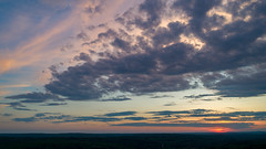 Sunset and Storm (arckphoto) Tags: dji drone northbridge phantom4pro sky clouds sunset weather massachusetts unitedstates us newengland storm reflections