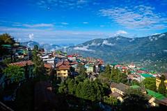 Panoramic view of Gangtok, Sikkim (CamelKW) Tags: sikkimindia2018 gangtok