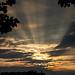 Unexpected Sunset (Glenn Cartmill) Tags: sunset glenncartmill portadown unexpected northernireland ireland nireland countyarmagh ulster uk unitedkingdom rays sunrays sky sony rx100v rx100m5