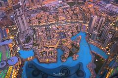From The Burj Khalifa (Muhammad Habib Photography) Tags: burjkhalifa burj khalifa uae dubai dubaimall dubaiopera mydubai habib hbb hbeebz muhammadhabib muhammadhabibphotography middleeast tallest building