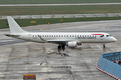 Embraer EM-190SR G-LCYY British Airways Cityflier (EI-DTG) Tags: planespotting aircraftspotting frankfurtairport fra junglejet embraer 11apr2018 regionalairliners glcyy em190 britishairways cityflyer