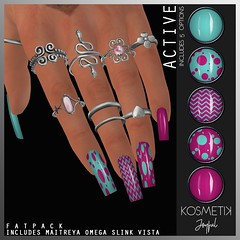 .kosmetik Nail Applier - Joyful Active (.kosmetik) Tags: kosmetik nails newrelease eventexclusive applique maitreya omega slink vista
