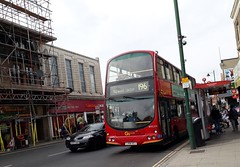 Go-Ahead London General WVL226 LX06DZJ | 196 to Norwood Junction (Unorm001) Tags: red london double deck decks decker deckers buses bus routes route diesel wvl226 wvl 226 196 lx06dzj lx06 dzj
