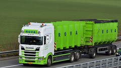 NL - Rova Scania NG R520 HL (BonsaiTruck) Tags: rova scania ng lkw lastwagen lastzug truck trucks lorry lorries camion caminhoes