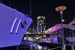 Battleship 11 (Smiley Man with a Hat) Tags: vividsydney2018 autumn herbst colour farben sydney nsw australia australien vivid battleship11 battleship nationalmaritimemuseum