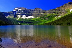 A jewel in the basin of a Rocky Mountain theatre (mark.paradox) Tags: canada rocky mountains watertonlakesnationalpark landscape view lake glacier colors beauty travel trip akamina road altitude adventure water scenery wonderful scenic reflection stones