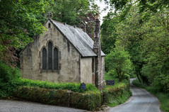St Raphael's Chapel, Huccaby, Dartmoor (Baz Richardson (catching up again)) Tags: dartmoor decvon huccaby straphaelschapelhuccaby formerschoolroom chapels gradeiilistedbuildings