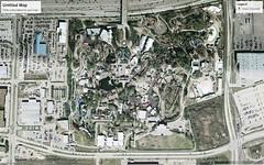 Astroworld - January 2006 (RS 1990) Tags: astroworld themepark sixflags houston texas usa northamerica tx amusement park site googleearth googlemaps pastandpresent beforeandafter thenandnow