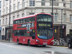 Waited For So Long (londonbusexplorer) Tags: metroline travel volvo b5lh wrightbus gemini 3 vwh2019 lk14fbv 214 moorgate finsbury square camden town highgate village tfl london buses