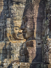 The Bayon (ORIONSM) Tags: bayon cambodia asia temple khmer face stone carving architecture history olympus omdem1 olympus14150mm hdr