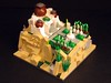 Micro Griffith Observatory & Landscape, Photo 1 (BrickBlvd) Tags: lego micro griffith observatory landscape planetarium science space