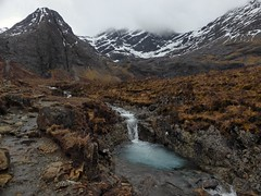 Fairy Pools in Glen Brittle heading east along the stream through Coire na Creiche, Skye (Alta alatis patent) Tags: fairypools skye landscape scotland river brittle waterfall