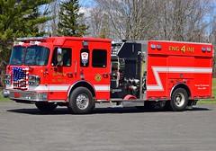 durham engine 4 (Zack Bowden) Tags: fire truck durham ct spartan engine