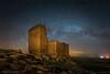Castillo de la Raya II (Roberto_48) Tags: castillo raya soria monteagudo vicarias noche nocturna larga exposición