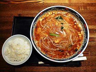 Spicy Sanma-men at Nakahara-tei.