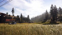 Welcome to Montana (Den7on) Tags: far cry 5 ubisoft dunia engine the beginning tree wood road sky grass montana