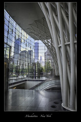 One World Trade Center NYC (vonhoheneck) Tags: oneworldcenter newyork nyc schoelkopf schölkopf skyscraper manhattan usa passageway wtc fultoncenter canon eos 6d metro station