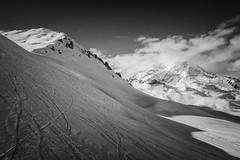 La Sache (lioneltinchant) Tags: lasache france blackandwhite noiretblanc monochrome mountains montagne neige snow nature hiver winter landscape paysage hautetarentaise alpes alps