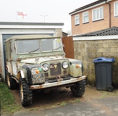 1966 LAND ROVER (shagracer) Tags: hdf959d 4x4 awd 4wd jeep wide wheels tyres mud muddy plugger off road roader green lane greenlane