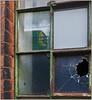 Reflecting on the past (geoff7918) Tags: factory newbartholomewstreet eastside class323 1415lichfield longbridge