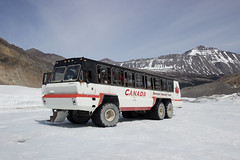Columbia Icefield (dbind747438) Tags: columbia icefield alberta canada rocky mountains outdoors snow ice landscape glacier bus truck