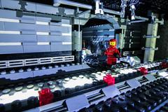 Lego Space Doorway and Corridor (psychoticgibbon) Tags: lego space wide angle afol classic corridor spaceship interior explore scfi