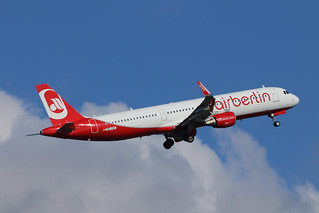 A321-211 OE-IGE ex HB-JOX BELAIR\AIR BERLIN colours