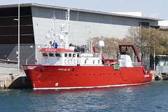 research ship Garcia del Cid in the port of Barcelona Spain 2018 (roli_b) Tags: research ship schiff forschung forschungsschiff oceanography garcia del cid garciadelcid bcn barcelona spain port puerto boot boat vessel study