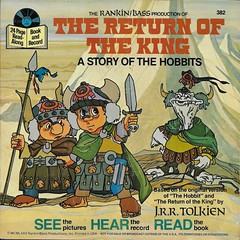The Return Of The King Book And Record ( Disney 1971 ) (Donald Deveau) Tags: hobbits book bookandrecord record vinyl lotr lordoftherings tolkien thereturnoftheking rankinbass books tvshow