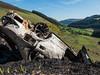 Glenmacnass Valley (Stoneybutter) Tags: car carcrash wicklow wicklownationalpark glenmacnass glenmacnassvalley ireland accident