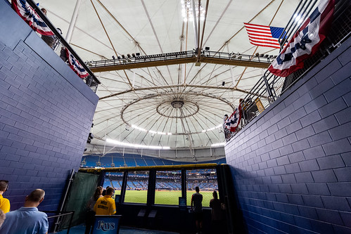 Tropicana Field CF Tunnel