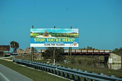 Sign On The Trail (ACEZandEIGHTZ) Tags: everglades nikon d3200 us41 canal bridge alligator alley