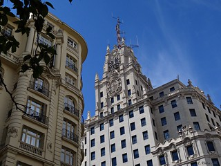 Edificio Telefónica. Madrid.
