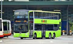 MAN ND323F A95 (Euro 6) Gemilang / Lion's City DD (TIB1218R) Tags: sbstransit mana95 nd323f gemilangcoachwork sg5926j yishun angmokio bus doubledecker landtransportauthority seletarbuspackage service851e singapore